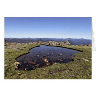 Cartes Étang d'eau, bâti Ossa, parc national d'Ossa,