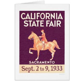 Cartes État 1933 de la Californie juste