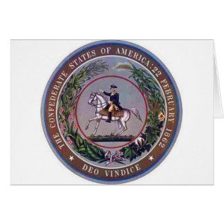 Cartes États confédérés de joint d'Amérique