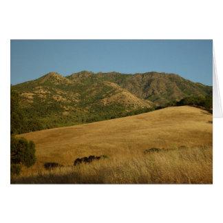 Cartes Été sur Mt. Diablo, CA