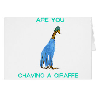 Cartes Êtes vous Chaving un Giraffe.png