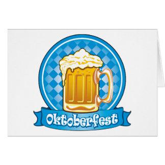Cartes Étiquette de bière d'Oktoberfest, détaillé