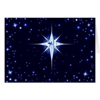 Cartes Étoile de nativité de Noël