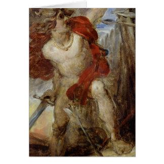 Cartes Étude pour le courage gaulois, c.1830-32