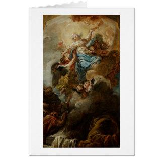 Cartes Étudiez pour l'acceptation de la Vierge, c.1760 2