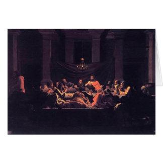 Cartes Eucharistie de Nicolas Poussin-