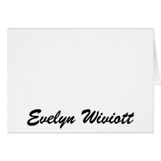 Cartes Evelyn Wiviott