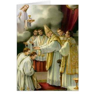 Cartes Évêque Ordination Jésus d'anniversaire de prêtrise