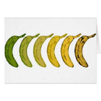 Cartes Évolution de banane