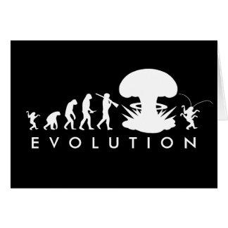 Cartes Évolution de diagramme drôle d'évolution de