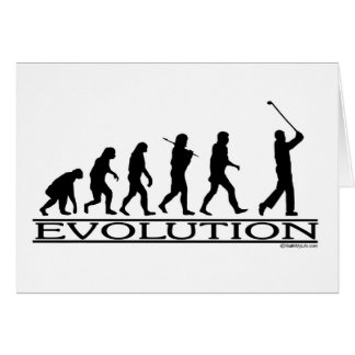 Cartes Évolution - golf - homme
