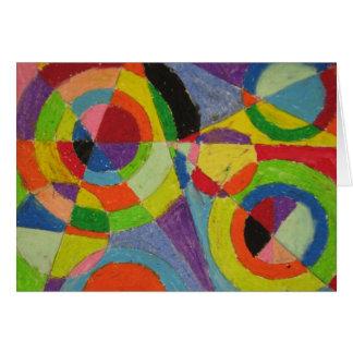 Cartes Explosion de couleur de Robert Delaunay