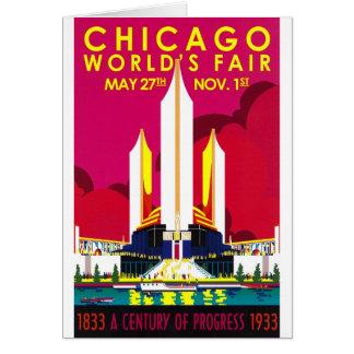 Cartes Exposition universelle 1933 de Chicago