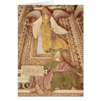 Cartes Ezekiel et ange tenant le calice de
