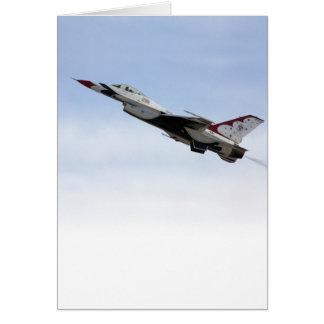 Cartes F-16 Thunderbird en vol