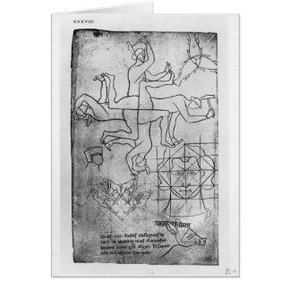 Cartes Fac-similez la copie de Mme Fr Studies des hommes