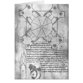Cartes Fac-similez la copie d'un plan de la tour