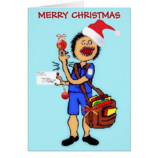 Cartes Facteur de Merci de Noël