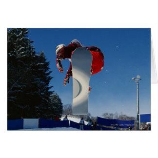 Cartes Faire du surf des neiges 5