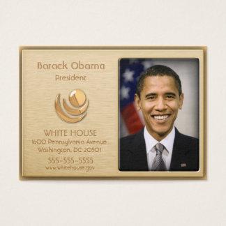 Cartes faites sur commande de profil d'or exécutif