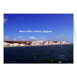Cartes Falaises blanches de Douvres, Royaume-Uni