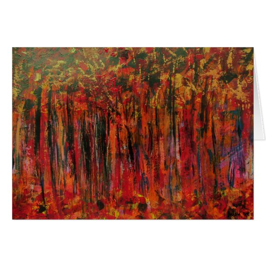 Cartes Fall in France Greeting Card