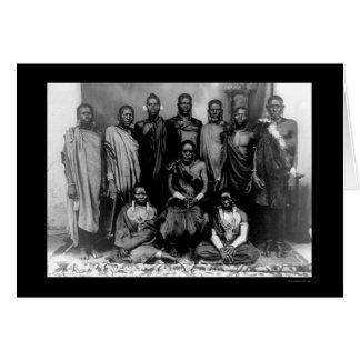 Cartes Famille royale au Kenya 1909
