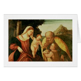 Cartes Famille sainte avec St John