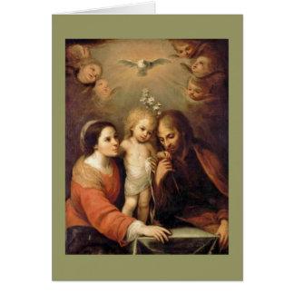 Cartes Famille sainte - Sacrada Familia