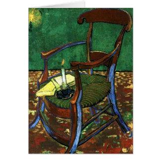 Cartes Fauteuil de Paul Guaguin par Vincent van Gogh