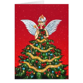 Cartes Fée de Noël