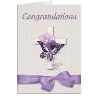 Cartes Félicitations de baptême