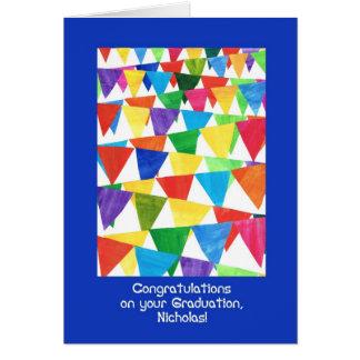 Cartes Félicitations d'obtention du diplôme d'étamine