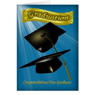 Cartes félicitations sur l'obtention du diplôme que vous