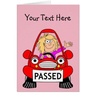 Cartes Félicitations sur passer votre examen de conduite