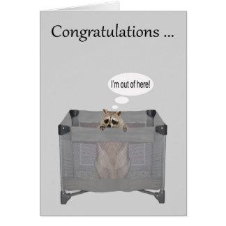 Cartes Félicitations sur sortir du stylo