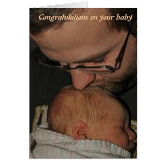 Cartes Félicitations sur votre bébé