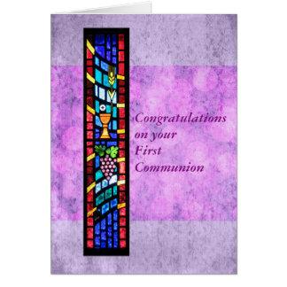Cartes Félicitations sur votre ?ère communion
