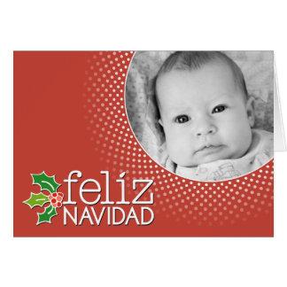 Cartes Feliz Navidad - frontière de photo
