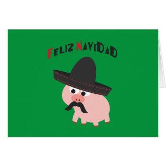 Cartes Feliz Navidad ! Porc