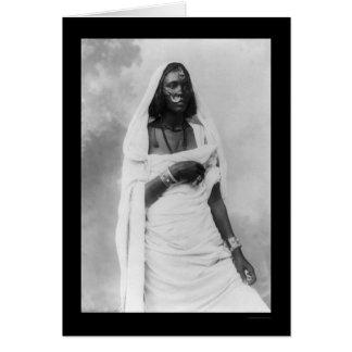 Cartes Femme Afrique 1920 de Nubian