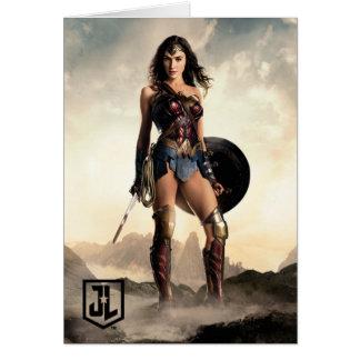 Cartes Femme de merveille de la ligue de justice | sur le