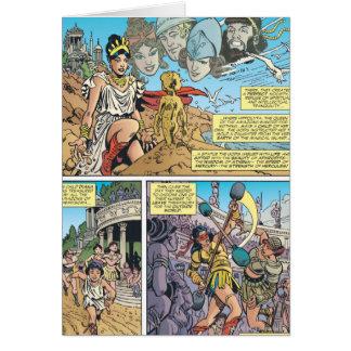 Cartes Femme de merveille Themyscira