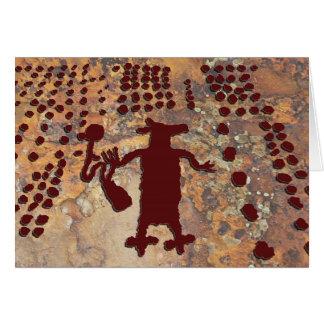 Cartes Femme et coyote d'araignée