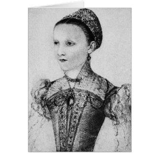 Cartes Femmes historiques - Mary, reine des Ecossais âgée