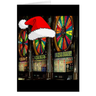 Cartes Fentes de Noël de Las Vegas