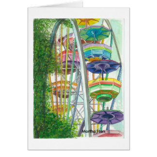 Cartes Ferriswheel en couleurs