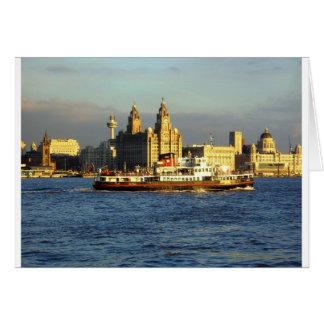 Cartes Ferry du Mersey et bord de mer de Liverpool