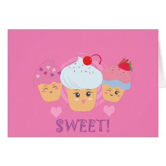 Cartes Festins de bonbon - petits gâteaux !