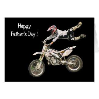 Cartes fête des pères de moto